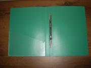 Папка пластиковая формат А4 с пружинным скоросшивателем (6 шт)